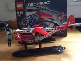 Lego Technic 8046 Helicopter or Plane 2 in 1 Model - Excellent Condition