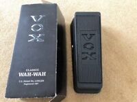 VOX CLASSIC WAH PEDAL