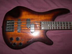 BASS Dean 4-String Active Bass Guitar.
