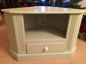 Solid pine tv stand shabby chic