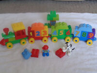 Lego Duplo Number Train 100% complete