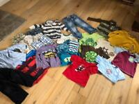Bundle of children's clothes age 4-5 years