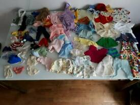 Dolly clothes - job lot