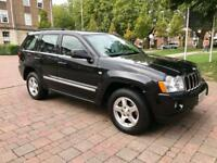 2008 Jeep Grand Cherokee crd ltd automatic 4x4 3.0 diesel 215 bhp