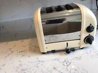 Dualit 3slice toaster