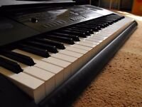 Casio CTK-6200 keyboard.