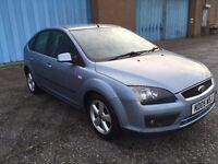 2005 Ford Focus 1.6 zetec , mot - August 2017,only 72,000 miles,2 owners from new,astra,golf,megane