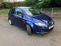 CHEAP Low mileage SEAT Altea 1.6 Reference Sport New MOT just serviced FULL SERVICE HISTORY