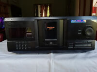 SONY CDP-CX235 & remote control & manual All Used 200 Cd Player