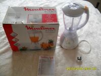 Moulinex Vitamix blender 1.5L capacity boxed and barely used
