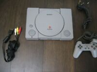 M0DDED PS1 with controller - Plays burnt ISOs