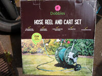 New & Boxed 80ft Hose & Cart