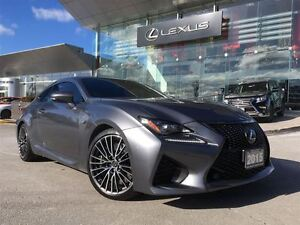 2015 Lexus RC F 1 Owner Navi Leather Back Up Cam Sunroof