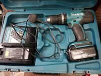 Makita DHP 453 18V cordless drill