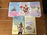 Job Lot Bundle x5 Sophie Kinsella Hardback Books