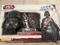 Star Wars Fancy Dress Costume (Darth Vader, Lightsaber)