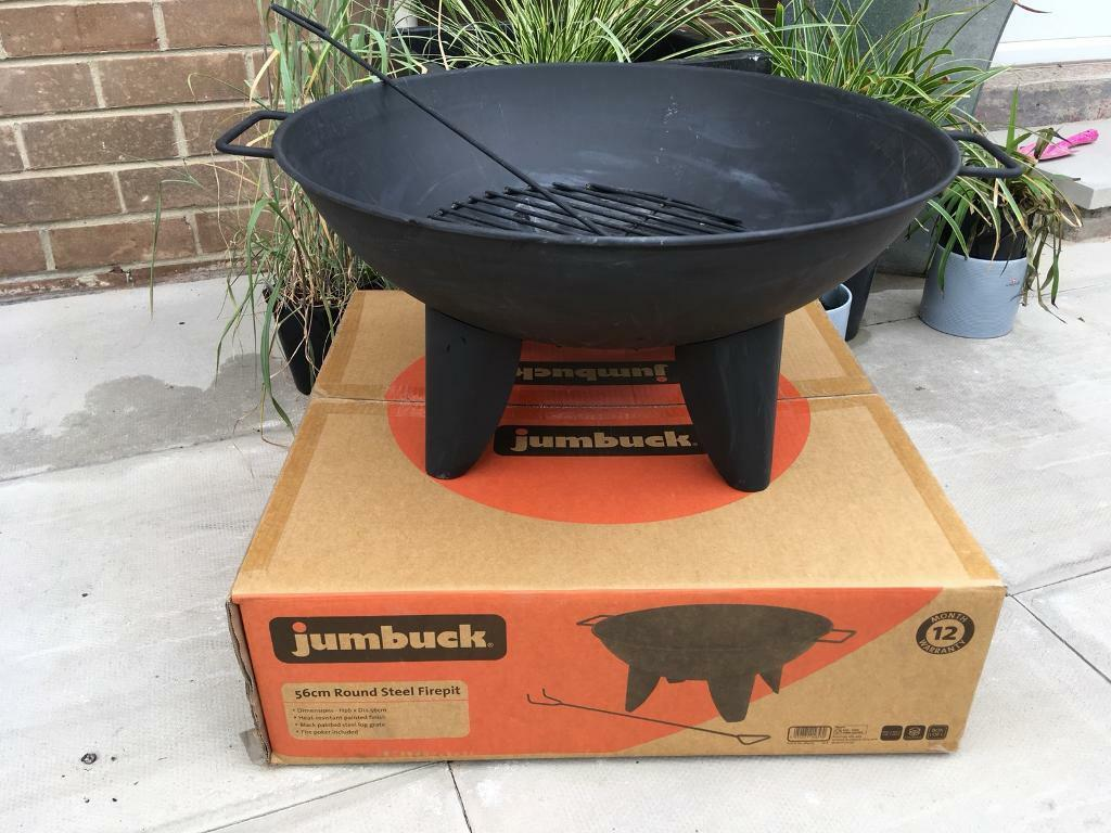 Jumbuck Steel Firepit Used Once In Chester Le Street County