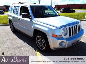 2009 Jeep Patriot Limited ***CERTIFIED * ACCIDENT FREE*** $4,999