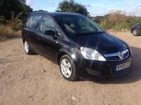 2009 VAUXHALL ZAFIRA 1.9 AUTO CDTi EXCLUSIV 5 DOOR ESTATE DIESEL *PCO RENEWABLE CAR*, 98k