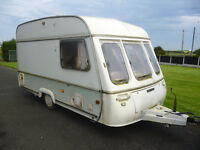 2 BERTH TOURING CARAVAN SWIFT WITH AWNING
