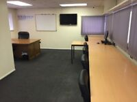 ILFORD IG1 - Large private office for rent, all inclusive price, seats ten!