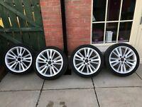 """18"""" BMW Winter Alloys & Tyres"""