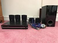 LG Surround sound system with DVD player (OFFERS)