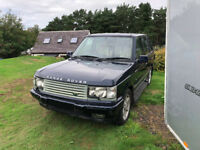 2002 Range Rover 4.6 Vogue SE Spares or Repair