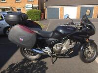 Yamaha XJ 600 Diversion with Panniers