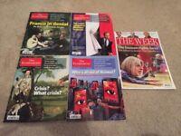 The Economist Magazine (2012) x 4 / The Week Magazine (2012)