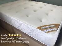 ➡️➡️ Luxury full hotel pocket sprung & deep memory top Mattresses