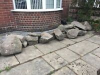 Free Rockery Rocks - Collection Only