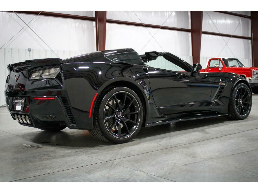 2016 Black Chevrolet Corvette Z06 3LZ   C7 Corvette Photo 5