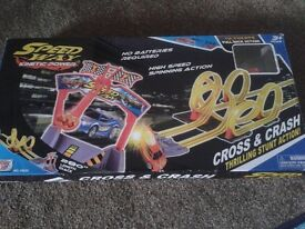 Speedway cross and track