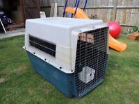 Large Airline Compliant Dog Transport Kennel / Crate