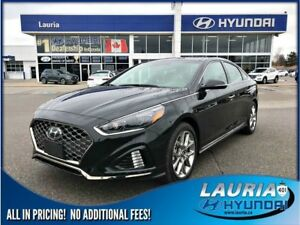 2018 Hyundai Sonata 2.0T Sport - ULTRA LOW KMS - NOT A RENTAL!!