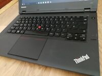 fast working professional business laptop Lenovo ThinkPad i3 with warranty, Windows 10 Pro Office