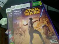 Xbox 360slim with games and kinect