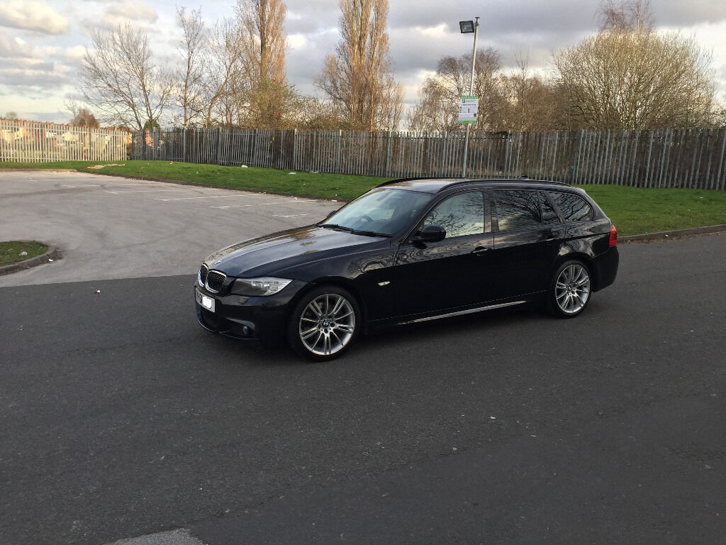 bmw e91 330d m sport estate touring 245bhp lci facelift. Black Bedroom Furniture Sets. Home Design Ideas