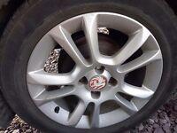 Corsa alloys with good tyres