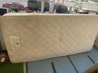 Single mattress and divan base