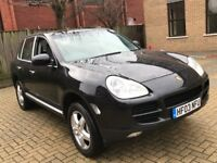 PORSCHE CAYENNE 4.5 S AUTOMATIC PETROL SPORT BLACK GREAT DRIVE POWERFUL TOP SPEC NOT BOXTER X5 ML
