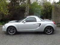 Toyota MR2 - hard top - 6 gears - 75K miles - A.C. - 2003 reg. - full set winter tyres