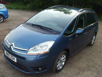 Grand C4 Picasso 2010 VTR+ 1.6 HDi 46000 miles 7 seater very good condition