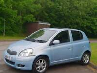 TOYOTA YARIS 1.0L AUTOMATIC 2004 5DOOR TSPIRIT MOT TILL27/3/2019 15 SERVICES 87000 MILES HPI CLEAR