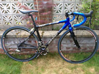 Giant TCR Carbon Road Bicycle - 10 Speed Ultegra - Small