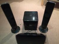 Samsung Home Cinema System with subwoofer