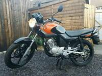 Immaculate fully refurbished, custom professionally sprayed. Yamaha YBR 125 cc