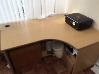Big corner desk .