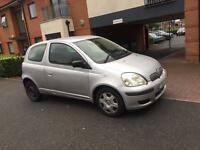 *** 04 LOW MILAGE TOYOTA YARIS 1.0 VERY ECONOMICAL IDEAL FIRST CAR SERV HIST+MOT*** £375! Ono